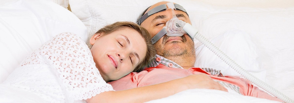 Husband and Wife happy cpap bipap apap