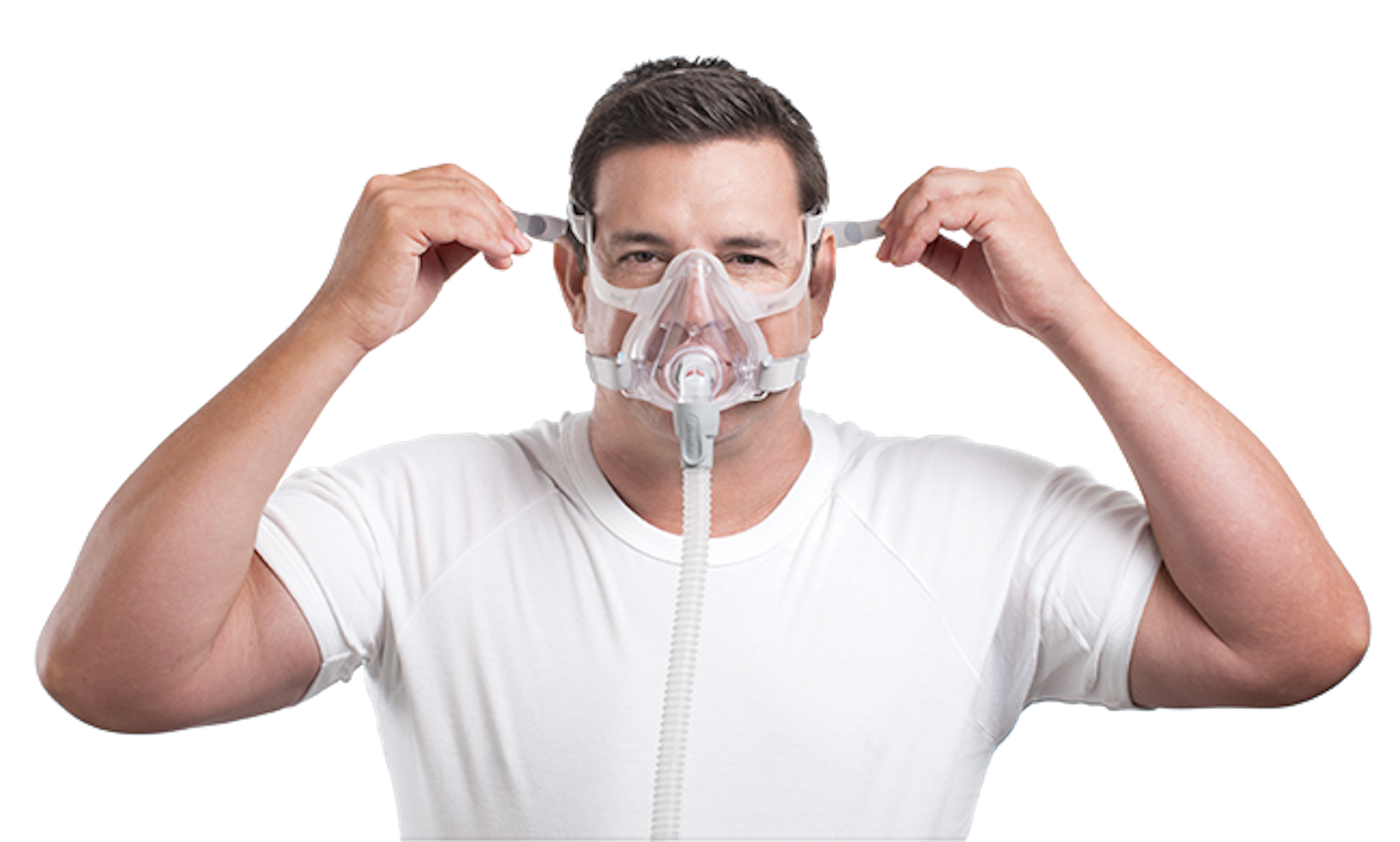 Fitting Mask Sleep Apnea